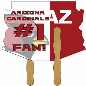 Arizona State Hand Fan Full Color (2 Sides)